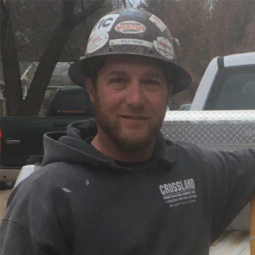 Kyle Page- Carp Foreman-Mentors