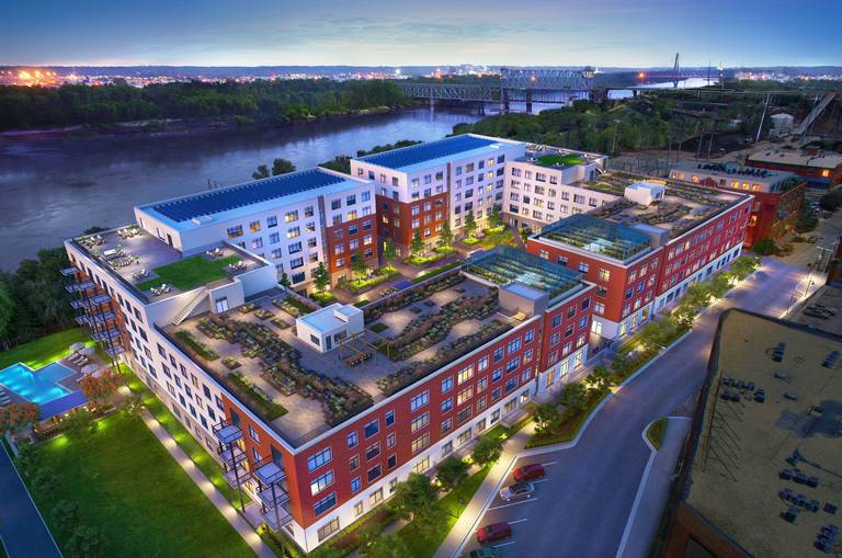 Second + Delaware Project Featured In Concrete Products
