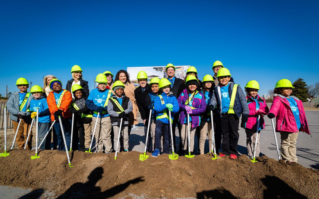 Crossland Breaks Ground On Discovery Lab Children's Museum